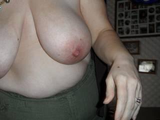 her big floppy tits