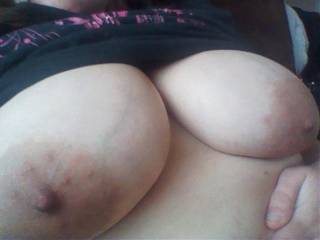 I love having my big nipples sucked, licked and bit.