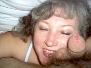 My another mature woman Dana  doing for me facial