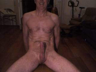 just let go of my hard throbbing cock, I will come in a few seconds without further touch..