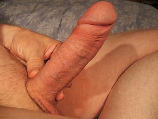 I like your big hard cock and would like to play with it.