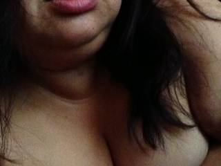 Damn sexy shot of you.  I'd love to have those lips wrapped around my throbbing cock..