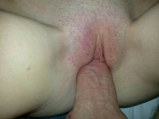 Was your bf aware ? your pussy still looks very tight despite having 2 cocks in row !