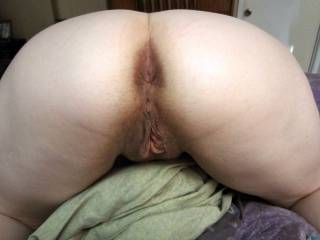 I would start at your sweet ass lick and rim you for a bit then move down to your sweet pussy and lick and suck and nibble you to a orgasm get you nice and wet then slowly slide my cock into your hot pussy