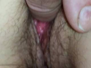 possibly my favorite clip showing my wifes wet pussy held open