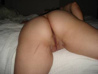 Looking at your very beautiful thick ass, And fat beautiful pussy, Id love to have the pleasure to pound you anytime you wanted pounded