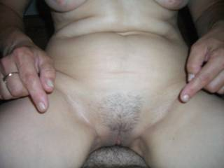 All the cock in my pussy