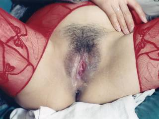 wife\'s a exhausted pussy after the fucking