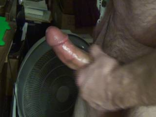 One of my newer cock-play days. I'm a horny old Bastard. Lol....