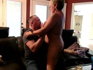 The start of a great evening with this Hotwife, hubby filming