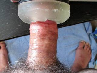 Fleshlight feels so tight around my fat cock as i fuck it whilst enjoying all the hot sexy zoig ladys here. Wish my toy was a real pussy or mouth , any takers ?