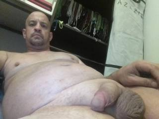 Well not every pic of my dick can be rock hard and plus it gives you a little something to go with for imagination