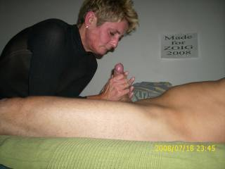 your wife handjob and roberta lick the hand