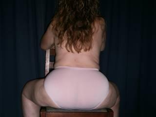 you look hot in panties makes my dick throb