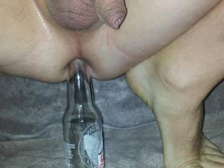 It would feel Much better with a Nice Hard Cock in there ! ! !