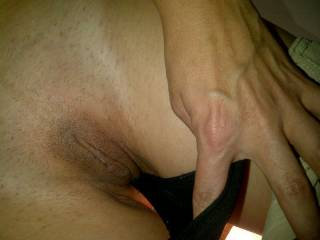 My girlfriend sent me some sexy pics to get me horny
