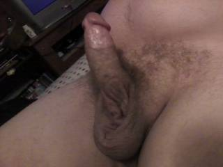 Mmm..lick and suck those big balls...lick up that shaft and take that cock in my mouth and suck it dry