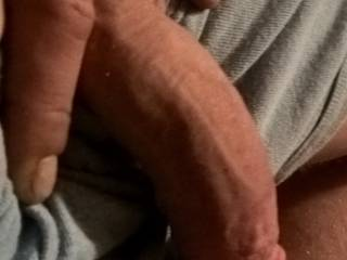 I love to get my dick sucked before it gets hard and is just thick