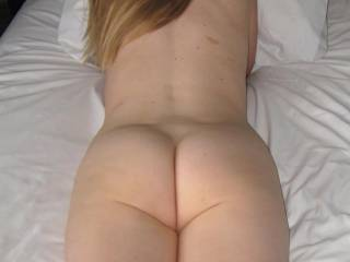 Wow, you have such a great ass! Like to take it for a ride sometime!