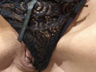 Tried on some new panties today, not sure about them. What do you think?