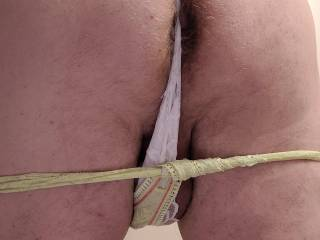 Need a little help with my ladies thongs, be a gentleman and give me a hand (and some cock)