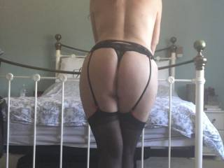 How much do you like a pair of stockings and suspenders?