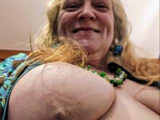 This married woman wants to know if you can handle her big tits. Can you help this insatiable cum-loving woman? Mmm...