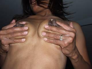 my nipples feel so good