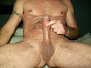 that's a Beautiful Cock Gazo! i Love that it's shaved and would really like to feel it, feel it spasm, feel it cum gobs! i would also like to suck on those balls and swallow all the cum you could give me! yum!
