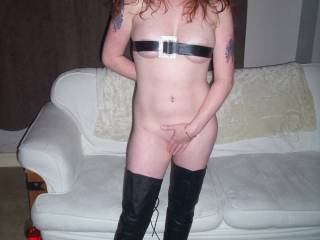 Absolutely nothing perfect outfit for a horny night hmmm :)
