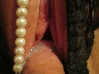 Another nice hot load inside my lil' Pussy, ;) Who is next in line? *Xoxo