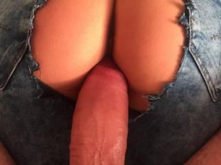 Mmm...sweet ass...very nice big fat cock