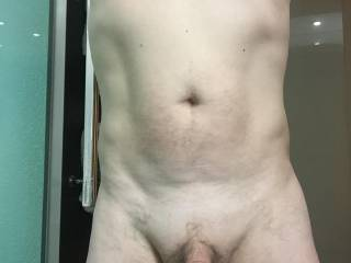 waiting for someone to offer to come and suck my cock