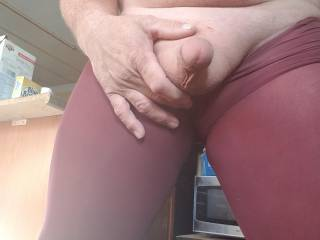 Just shaved cock and ball smooth