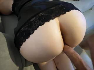 A quick fuck on the couch  Teasing me before he gets in completely