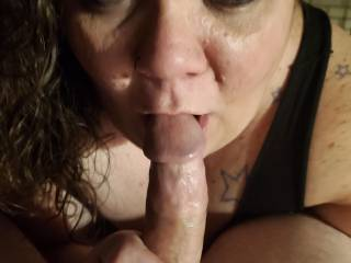 I want to suck your cock