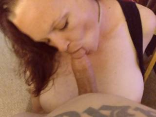 I wanna know girls, comment if you love sucking cock and cum shooting all over your face. I love it!!