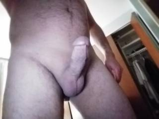 Bend over, I want to slide my cock in balls deep in either hole. Your choice 😏😈😈😈