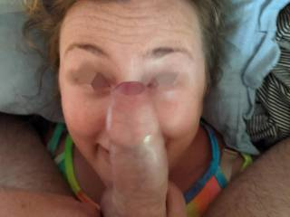 A cock for a nose