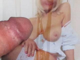Nice tits on my bitch!