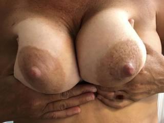 Got to love a hand bra