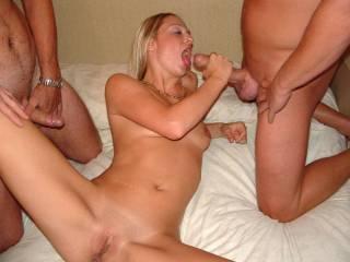 Claudia likes her spunk! xxx