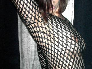 My first body stocking... I like it. I think I will have to get more.