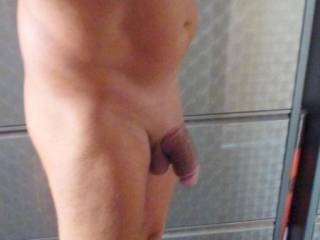 I would jack  you off suck your cock and swallow your cum If its ok the wife watchs and masterbates for us