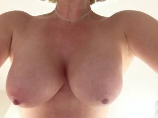 Big hanging boobies