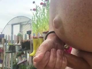 I love wanking and knowing I am being watched! I wish I was with lots of wankers allstark naked and sucking wanking and fucking each other! It would be fantastic having someone's cock on my hand rubbing it and sucking it!