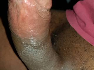 Just another picture of my Big Black Cock