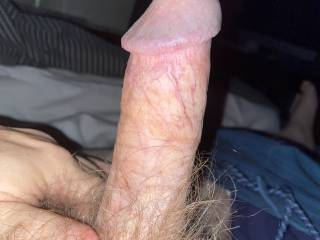 Thick. Hairy dick