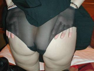 I love big see through knickers, and they look fab on your delicious bum - Devil xxx