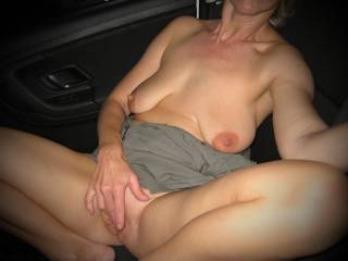 I'd love to suck your nipples. Would you like that?
